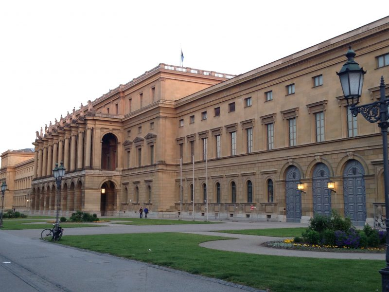 Munich attractions architecture