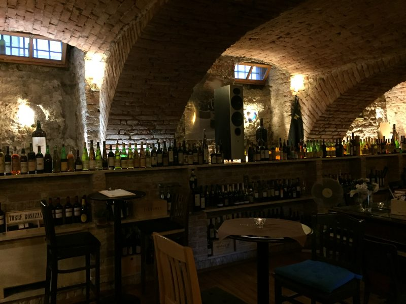 200 year old cellar in Zagreb