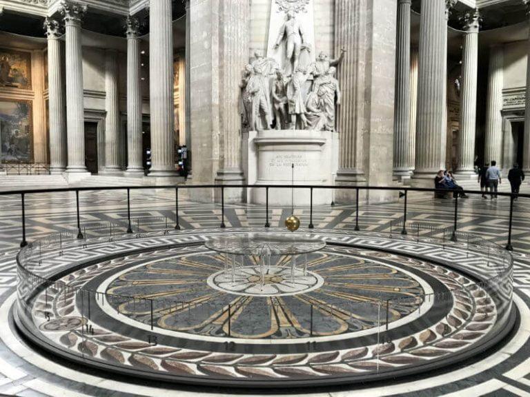 visiting the Pantheon museum
