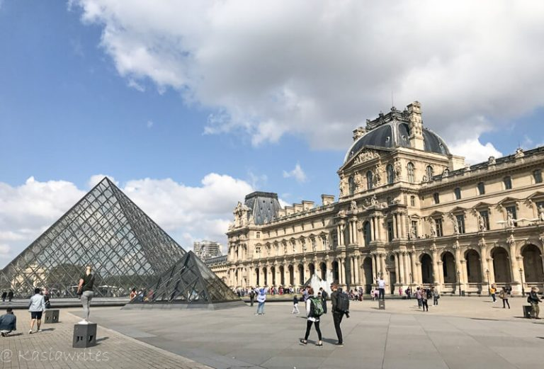 Magic of the Louvre Museum