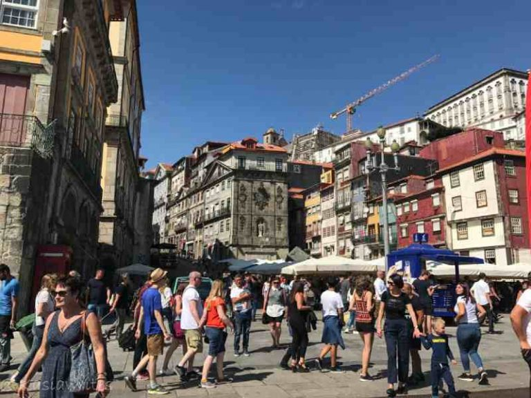 Ribeira neighbourhood in Porto
