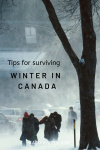 tips for surviving winter in Canada