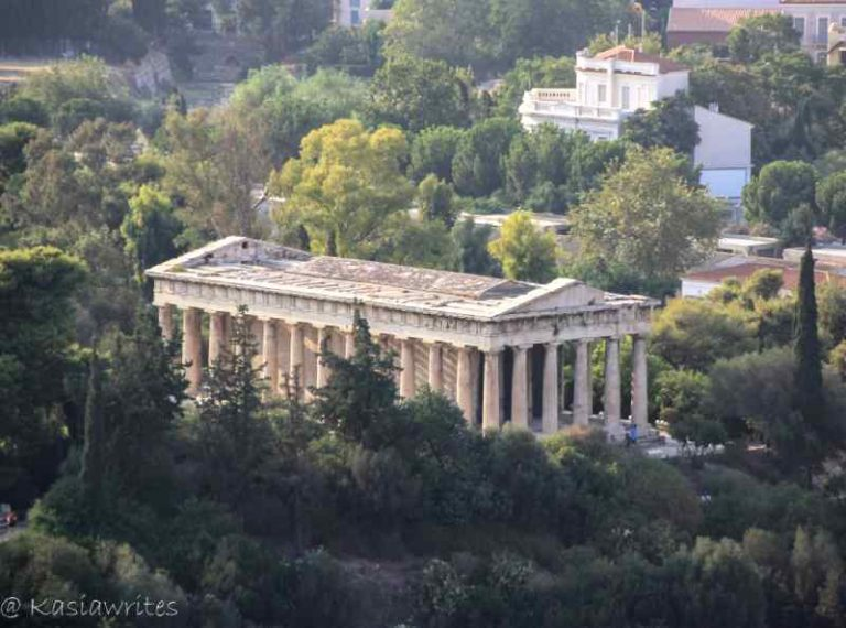 ancient temple in Athens