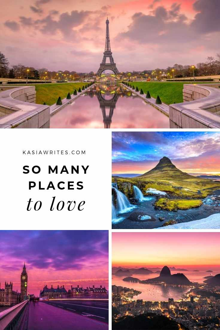 collage of favourite places