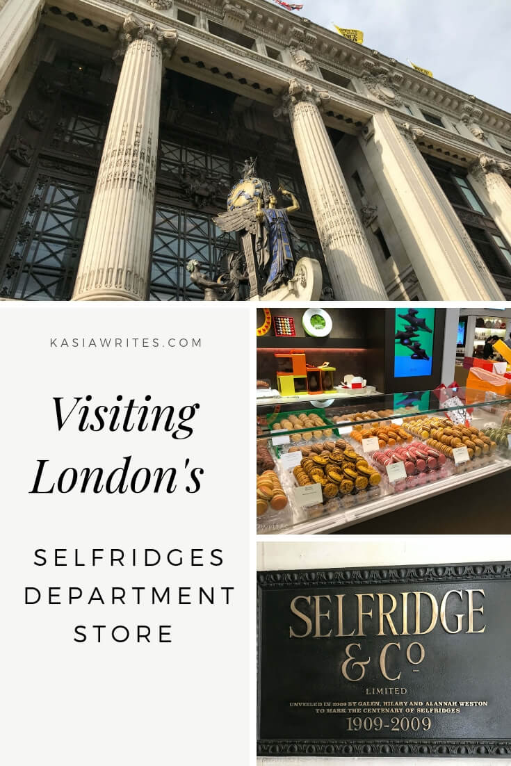 "Walk into history and the Netflix show ""Mr. Selfridge"" with at stop at London's iconic Selfridges department store, opened in 1908 by Harry Selfridge."
