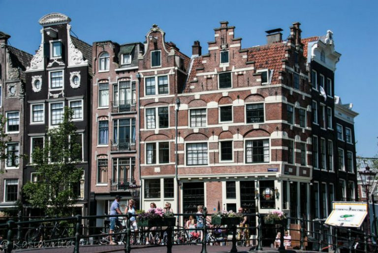 visiting Amsterdam for decorative facades of buildings