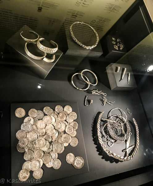 ancient silver coins and jewellery