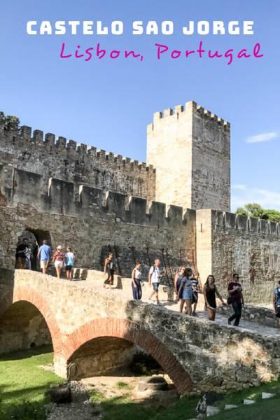 castelo de sao Jorge in Lisbon Portugal