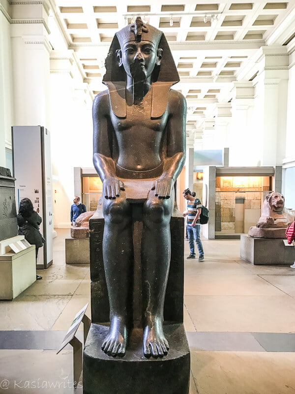 egyptian exhibit