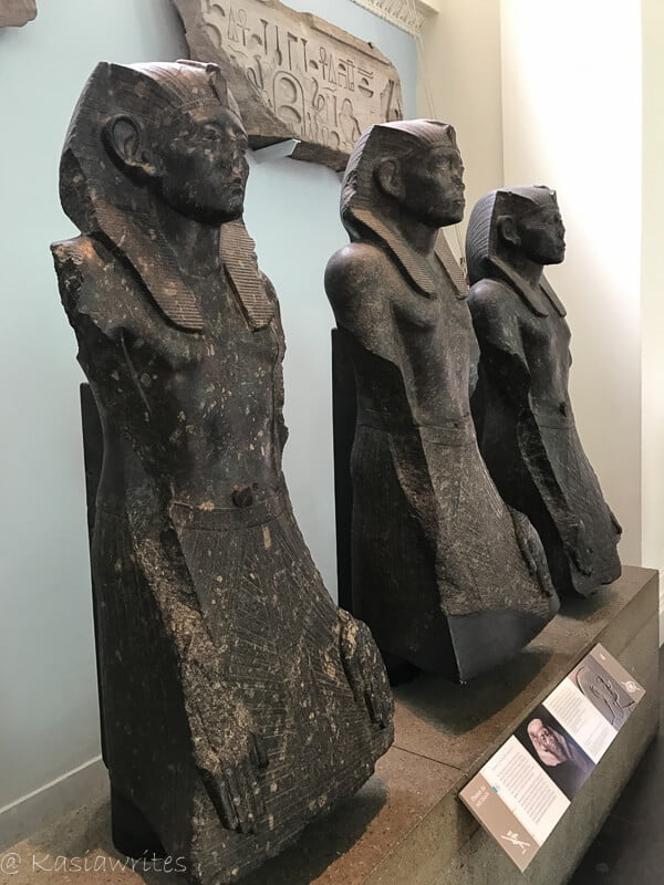 statues from egypt
