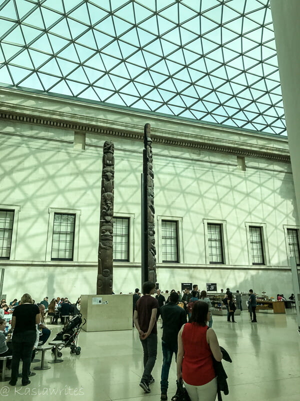 british museum courtyard