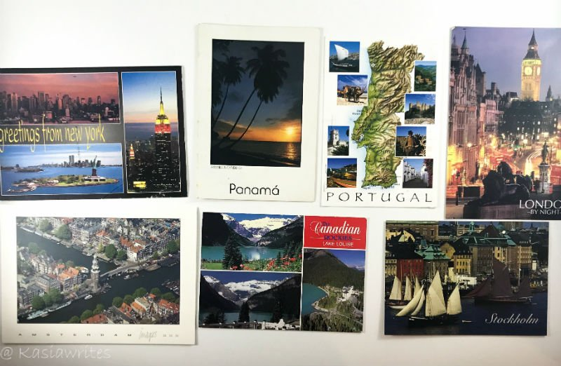 does anyone send post cards anymore travel cards