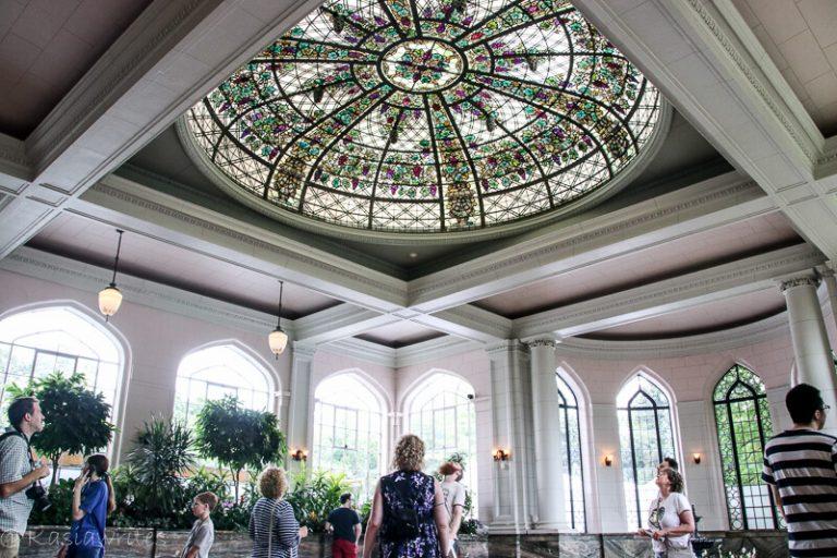 Conservatory inside Casa Loma