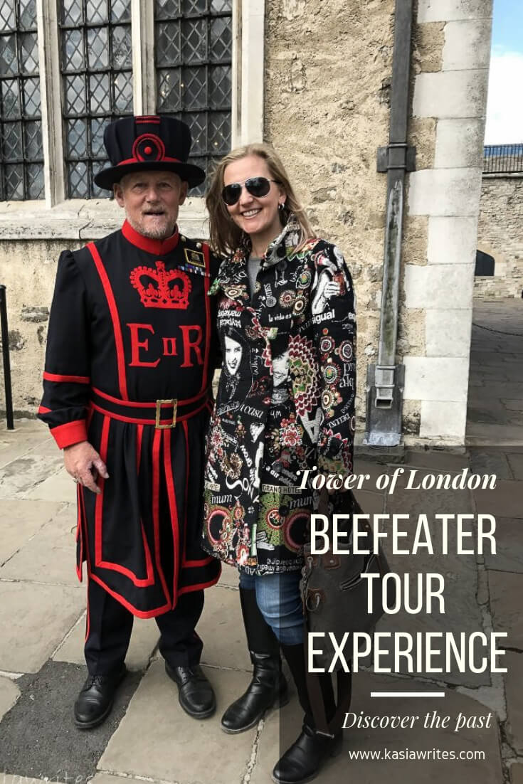 Tower of London Beefeater tour experience | kasiawrites
