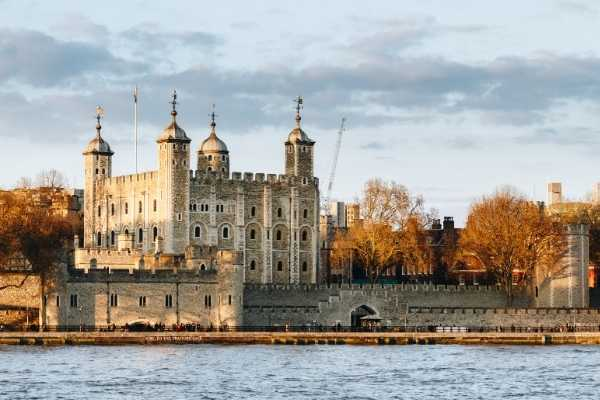 Tower of London from the water