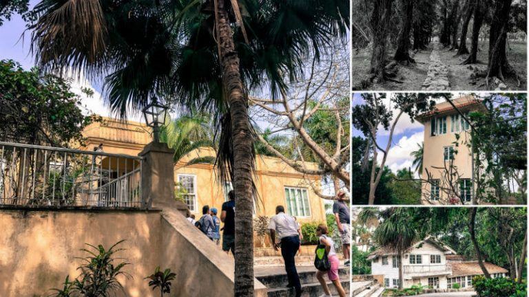 images of the outside of finca vigia