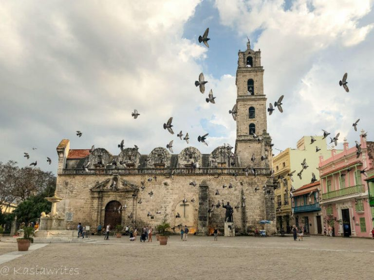 old church in Havana
