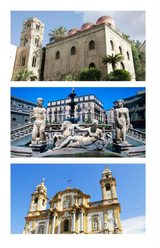 things to do in Palermo - fountains and churches of Palermo