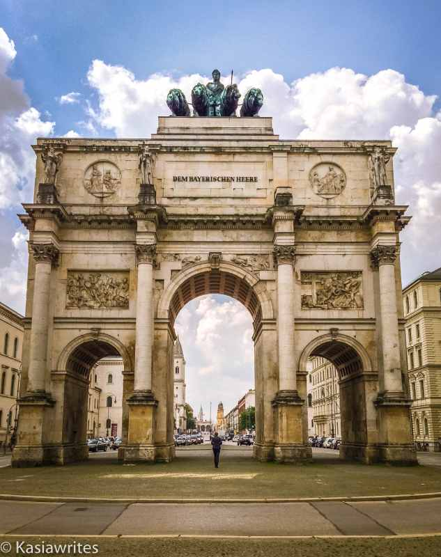 Siegestor arch in Munich