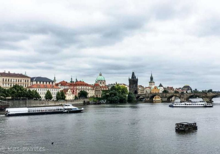 river cruise in Prague