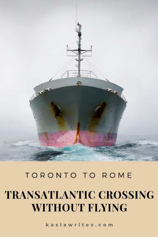 transatlantic crossing without flying