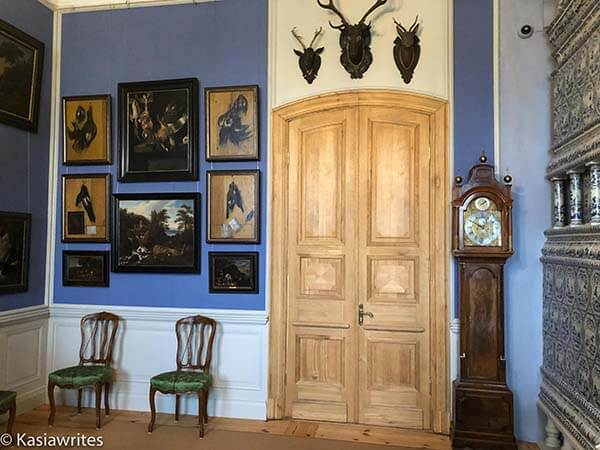 paintings inside Rundale Palace