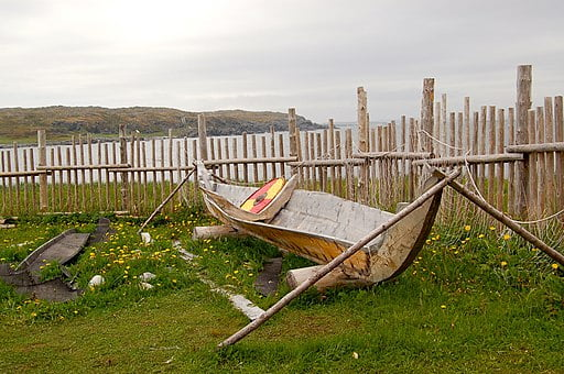 L'Anse aux Meadows National Site is one of UNESCO World Heritage Sites in Canada