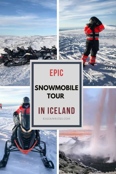 My epic glacier snowmobile tour in Iceland | kasiawrites cultural travel