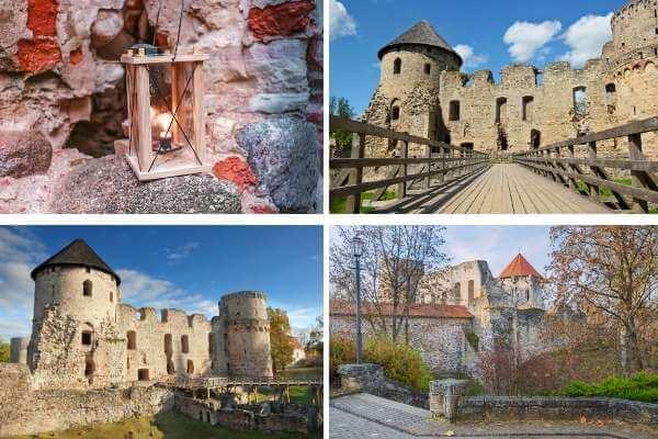 Medieval Cesis Castle