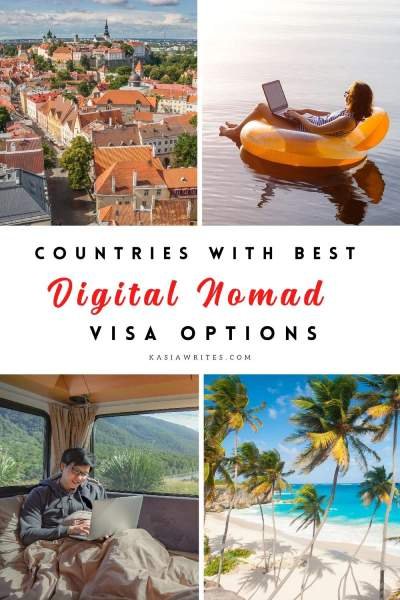 Digital nomad visa: 10 best countries for remote workers | kasiawrites cultural travel