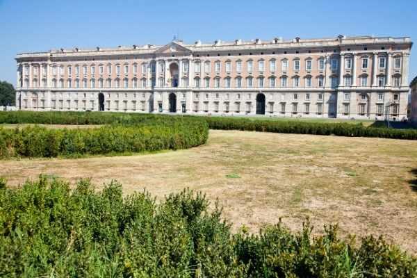 Royal Palace of Caserta exterior
