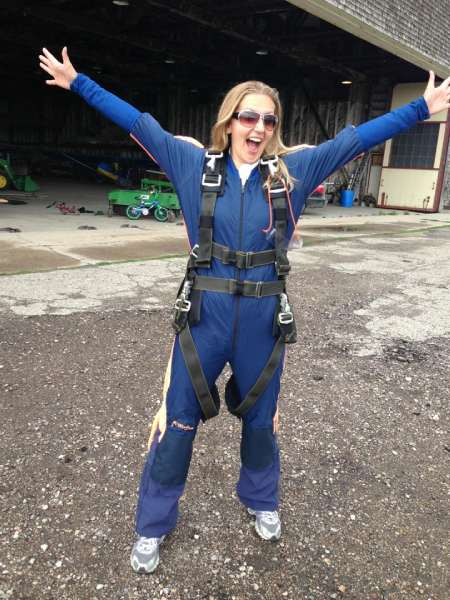 Adrenaline adventures: skydiving