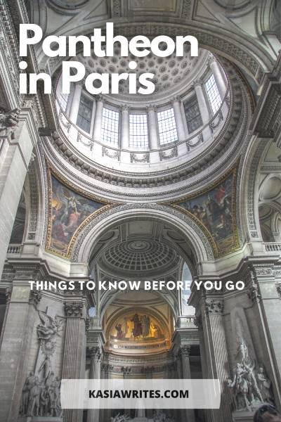 Paris guides: visiting the Pantheon museum | kasiawrites