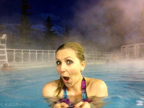 hot springs spa in Banff