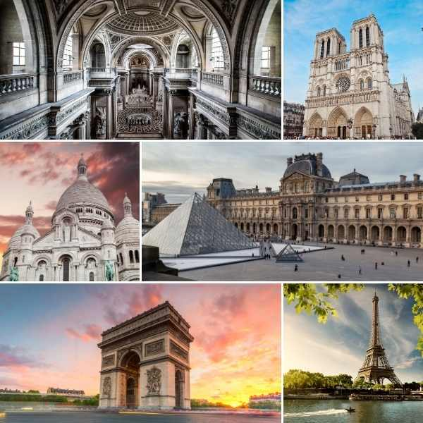 highlights of the City of Lights