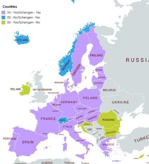 EU travel: helpful tips for visiting the 44 European countries | kasiawrites