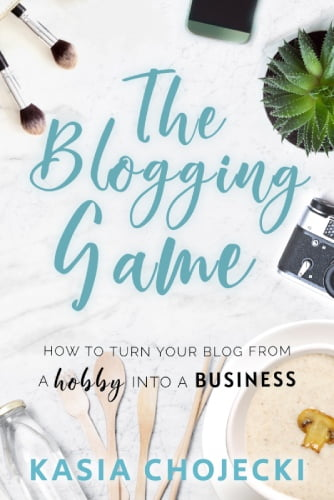 The Blogging Game - How to turn your blog from a hobby into a business.