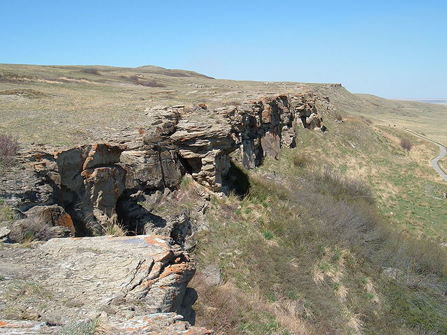 Head Smashed In Buffalo Jump Heritage site