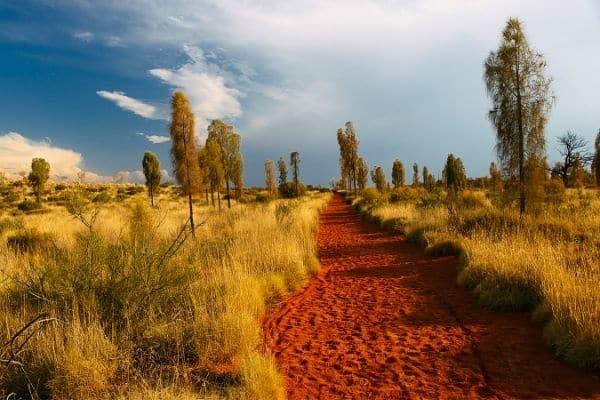outdoor adventures await in Australia's red centre