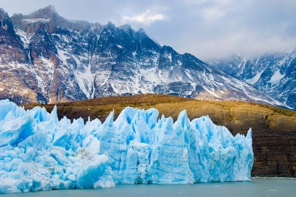 glacier in Argentina - one of the many outdoor adventures awaiting in Patagonia