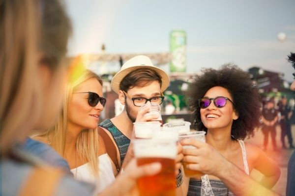 Beer festivals are great for culinary experiences