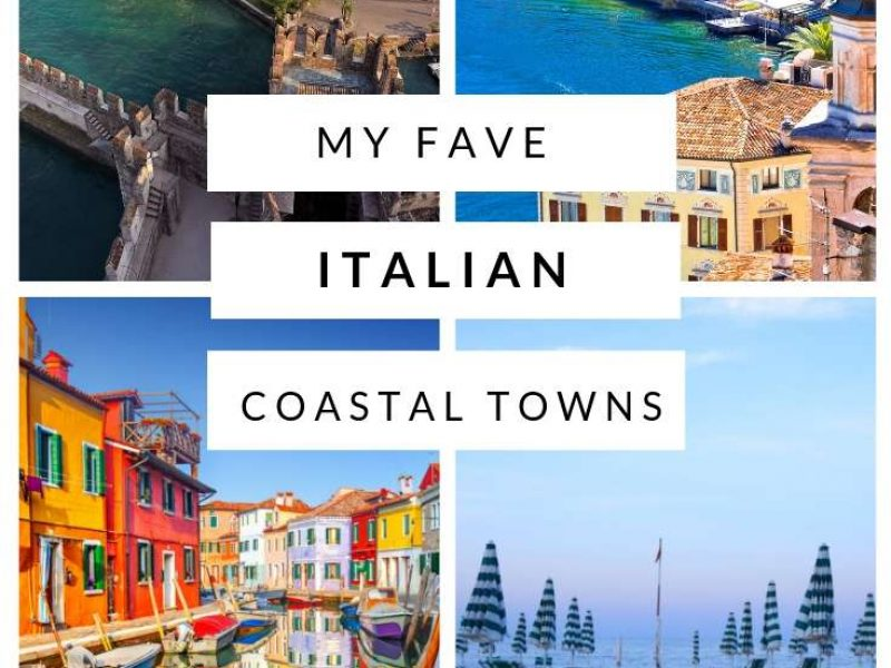 Italy has many amazing coastal towns for views and beaches